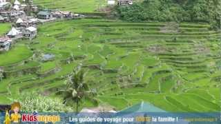 Kids'voyage - Trésors du globe - #5 Rizières en terrasses, Philippines TRAVEL_VIDEO