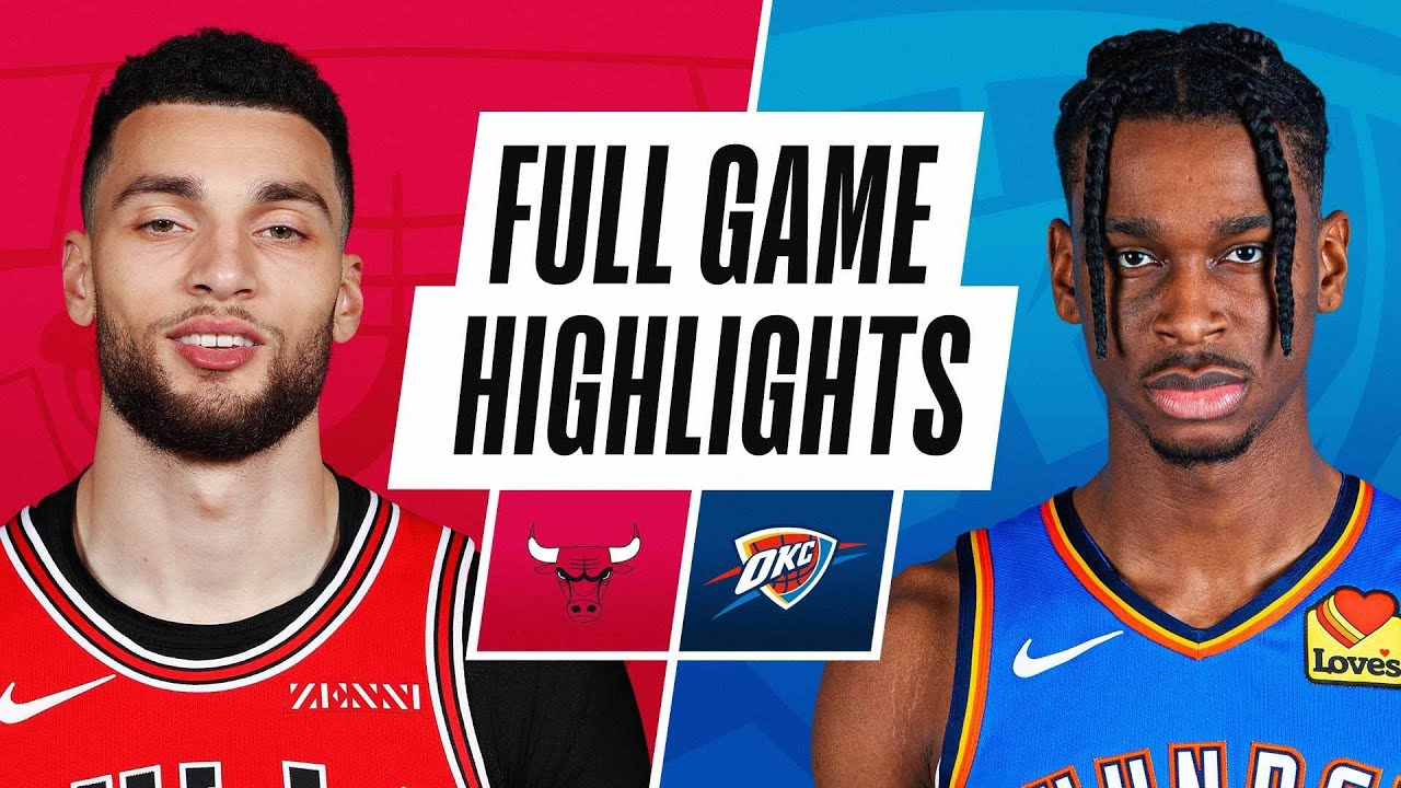 BULLS at THUNDER | FULL GAME HIGHLIGHTS | January 15, 2021 - NBA
