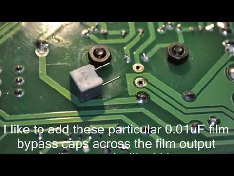 Musical Fidelity Tri-Vista 21 Tube DAC Upgrades & Modifications