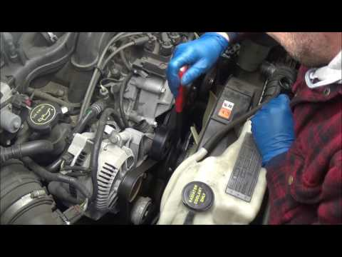 2008 Ford Explorer 4.0 overheating diagnosis and repair how to replace thermostat and water pump