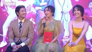 Diệu Nhi và Lê Giang khiến mọi người cười té ghế tại họp báo VU QUY ĐẠI NÁO