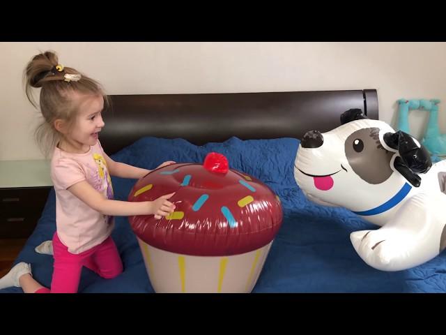 FUNNY DOG and Are you sleeping brother John song &  Video for Kids JoyJoy Lika