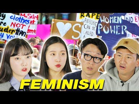 What Koreans Think About Feminism [Korean Bros]
