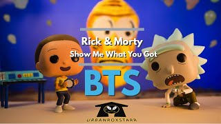 Rick and Morty Show me what you got BTS