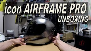 ヘルメットを買ったぜ! ~icon AIRFRAME PRO unboxing~