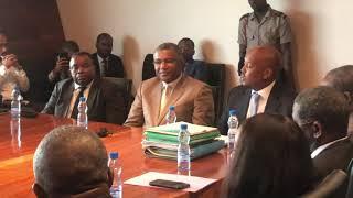 Gabon : Discours du CG du BCPSGE Liban Soleman
