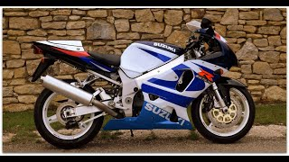 "2000 Suzuki GSX-R750 ""K1"" with just 16,910 miles in very original factory condition & lovely order"