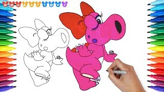 How to Draw Super Mario Bros, Birdo #189 | Drawing Coloring Pages Videos for Kids