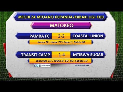 Download Magoli yote play off Transist Camp 1-4 Mtibwa Suga, Pamba 2-2 Coastal Union