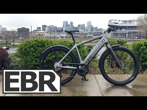 Stromer ST5 Video Review - $10k Fast, Powerful, Silent Electric Bike