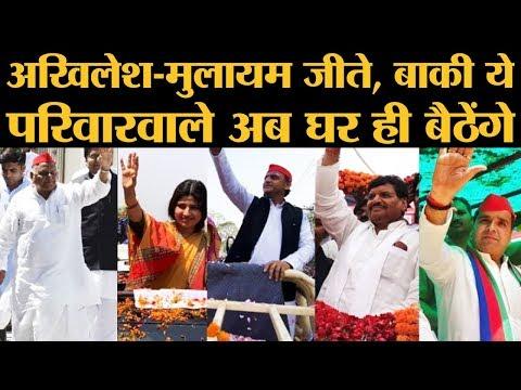 Loksabha Elections में Akhilesh Yadav के परिवार में कौन हारा और कितने वोटों से हारा? | Uttar Pradesh