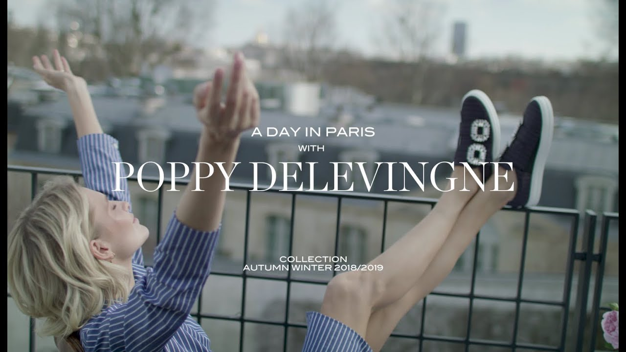 cf387a73c009 ROGER VIVIER - A Day in Paris with Poppy Delevingne - YouTube