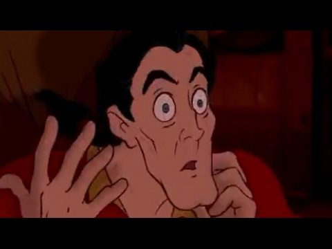 Gaston, but all the sound effects are replaced with text to speech ear rape