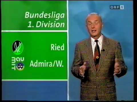 SV Ried - Admira Wacker 2:2 - Saison 1995/96