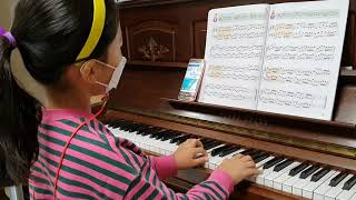 어린이하농 3번 레가토와 부점연습(쇼팽홈레슨 20101…