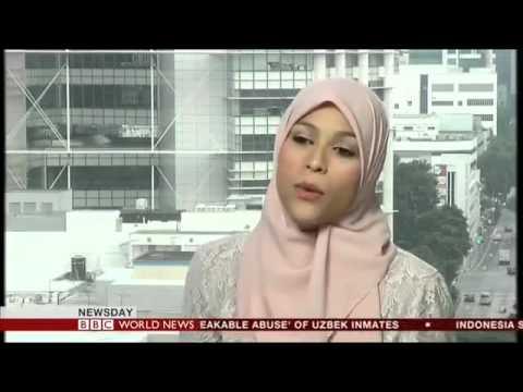 Alaa Murabit on BBC World Service Newsday Program (Singapore).