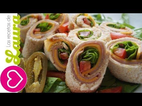Sandwich de Rollito ? Botanas para el Mundial ? Sandwich Rollups