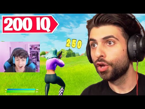 Reacting to the SMARTEST Fortnite Plays of All Time!