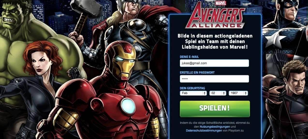 Avengers Online Game