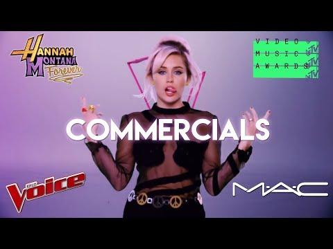 Miley Cyrus Commercials (COMPILATION)