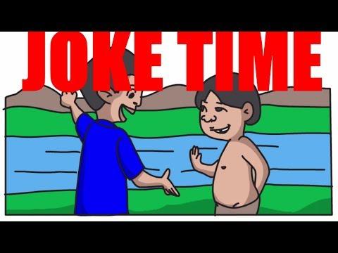 Tagalog Jokes Tawanan time (Animated video)