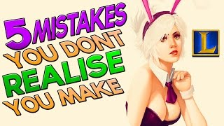 5 Mistakes You Don