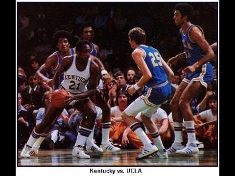 1975年NCAAチャンピオンシップゲーム UCLA VS KENTUCKY