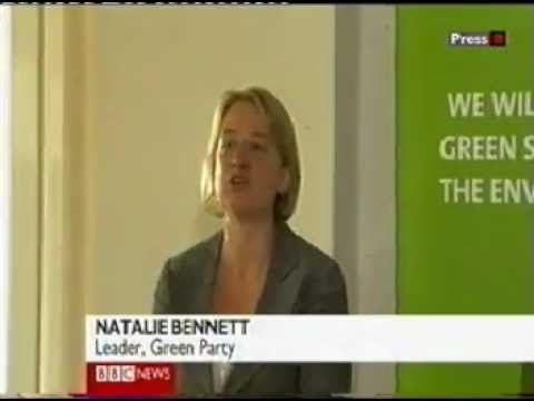 Natalie Bennett is new Green Party Leader for England & Wales
