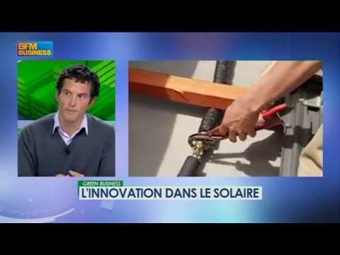 L'innovation dans le solaire - Emission Green Business sur BFM Business