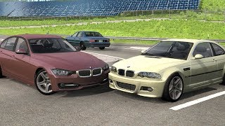 BMW Crash Compilation (+ ETK) - BeamNG Drive