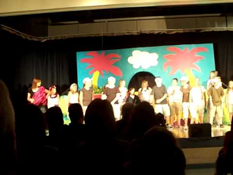 Micalister Stash as Sour Kangaroo in Suessical Jr at Pleasant Plains Middle School