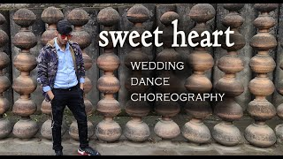 wedding dance choreography wedding dance song sweet heart hai | Badrinath | Naved | goran the bolt