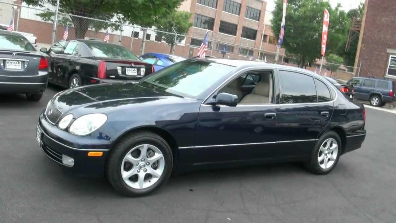 2004 lexus gs300 sedan - youtube