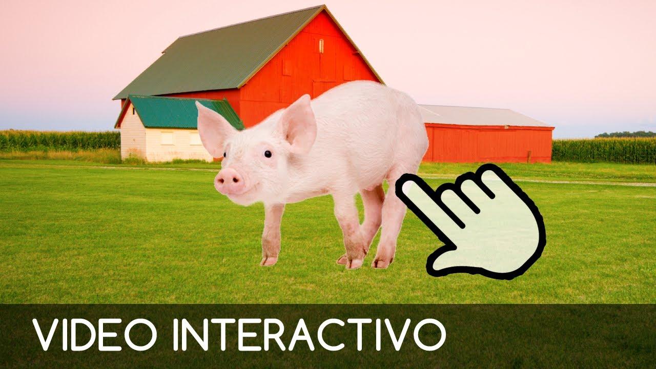 Animales De La Granja Juego Interactivo Y Educativo Para Ninos