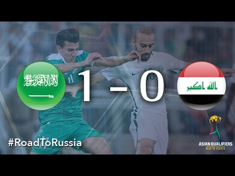 Saudi Arabia vs Iraq (Asian Qualifiers - Road To Russia)