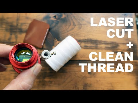 5 Tips for Keeping Thread CLEAN on Laser Cut Leather Projects from YouTube · Duration:  12 minutes 11 seconds