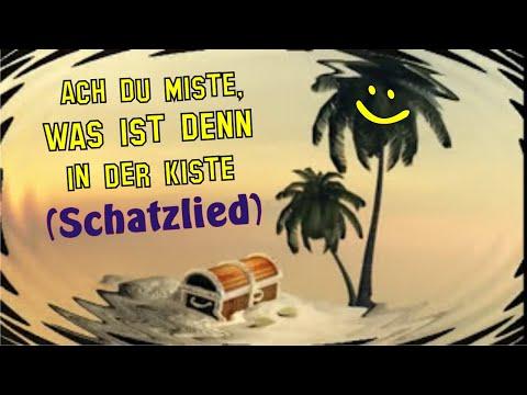 """Der Größter Schatz -Soundtrack der kostenlosen Sprachförderungs-App """"Die SCHATZKISTE""""/Piratenlieder"""