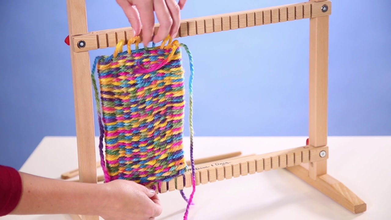 weaving loom tutorial youtube