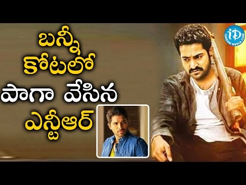 Jr NTR Grabs Allu Arjun's Fans Attention || Tollywood Tales