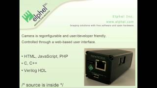 OHM2013: Elphel Open Hardware and Free Software Reconfigurable Network Cameras