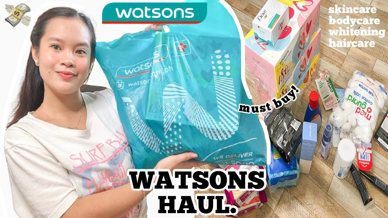 Download WATSONS HAUL 2021! 🛒💸 (new products to buy, skincare, bath essentials and haircare!)