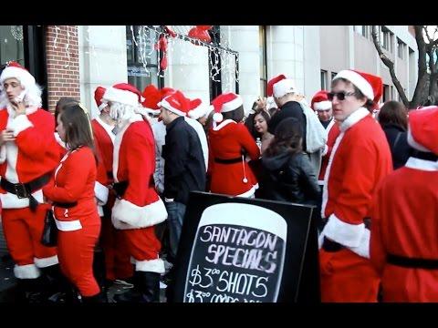 Ho-Ho-Hoboken NJ SantaCon Pub Crawl Event