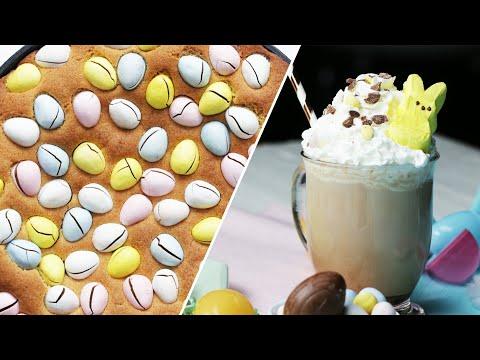 Easter Egg Cookie Skillet & Cocktail • Tasty Recipes