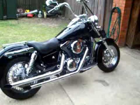 Custom Vn 1500 Vance Hines Exhaust