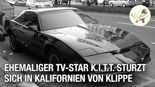 Ehemaliger TV-Star K.I.T.T. stürzt sich von Klippe – Totalschaden!