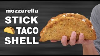 DIY MOZZARELLA STICK TACO SHELL - VERSUS