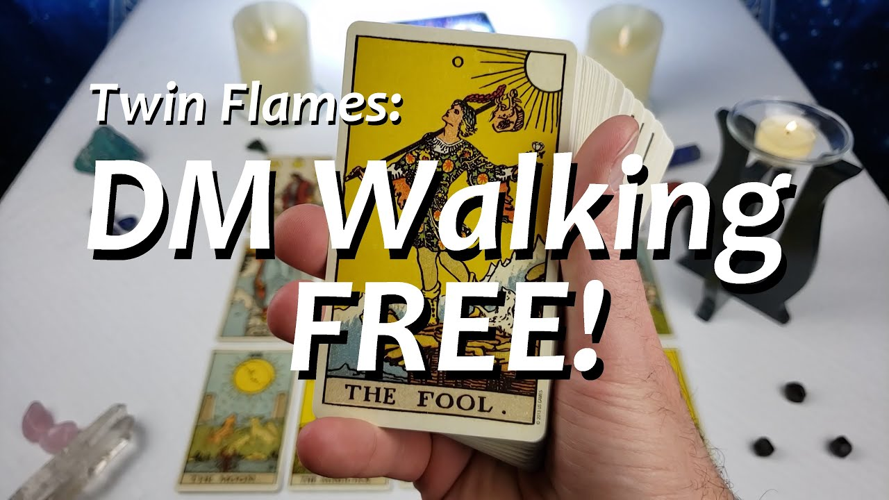 Twin Flames: DM Walking FREE!! 🚶♂️💓 Messages From Divine Masculine 12/02/2020