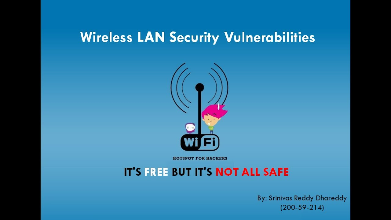 Wireless Security Mechanisms