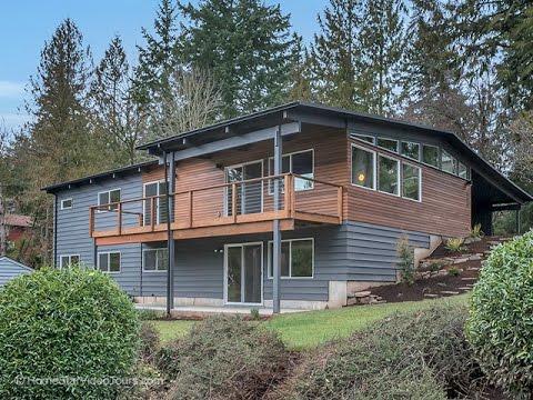 Remodeled Mid-Century Modern in SW Portland ~ Oregon luxury homes