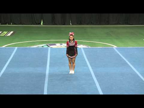 Tess's Individual At Greater Rochester Cheer And Dance Competition